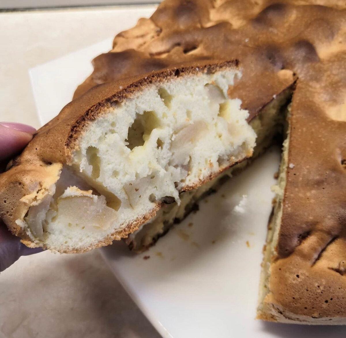Медовый пирог с яблоками. Теперь готовлю его чаще