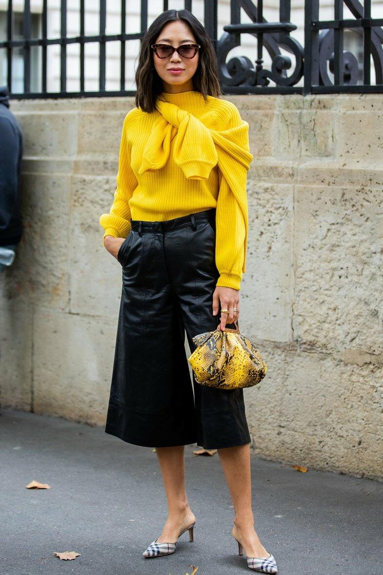 Угловатые очки будут петь в унисон с трендовой сумкой и одеждой. /Фото: cdnimpuls.com