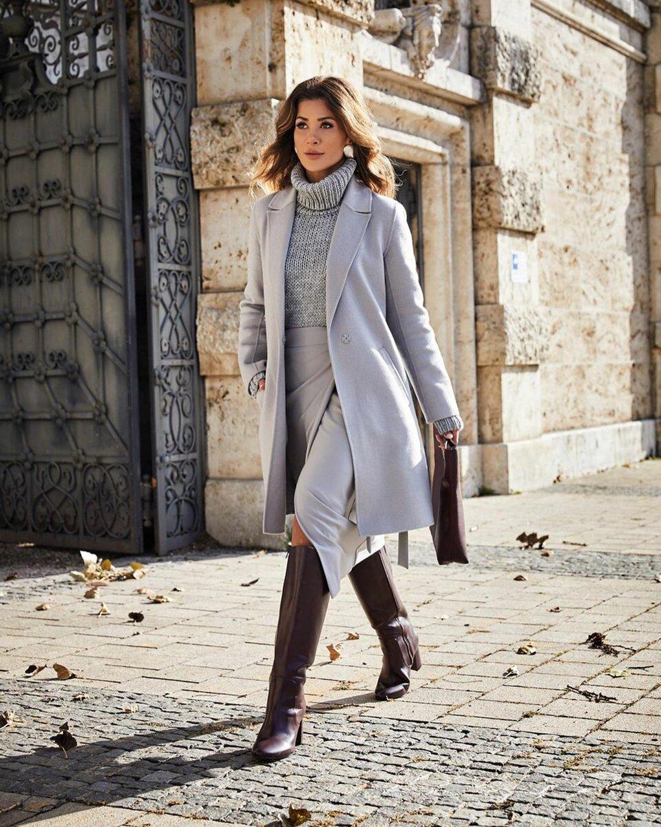 В таком наряде можно пойти на работу, свидание или шопинг. /Фото: krasotka.cc