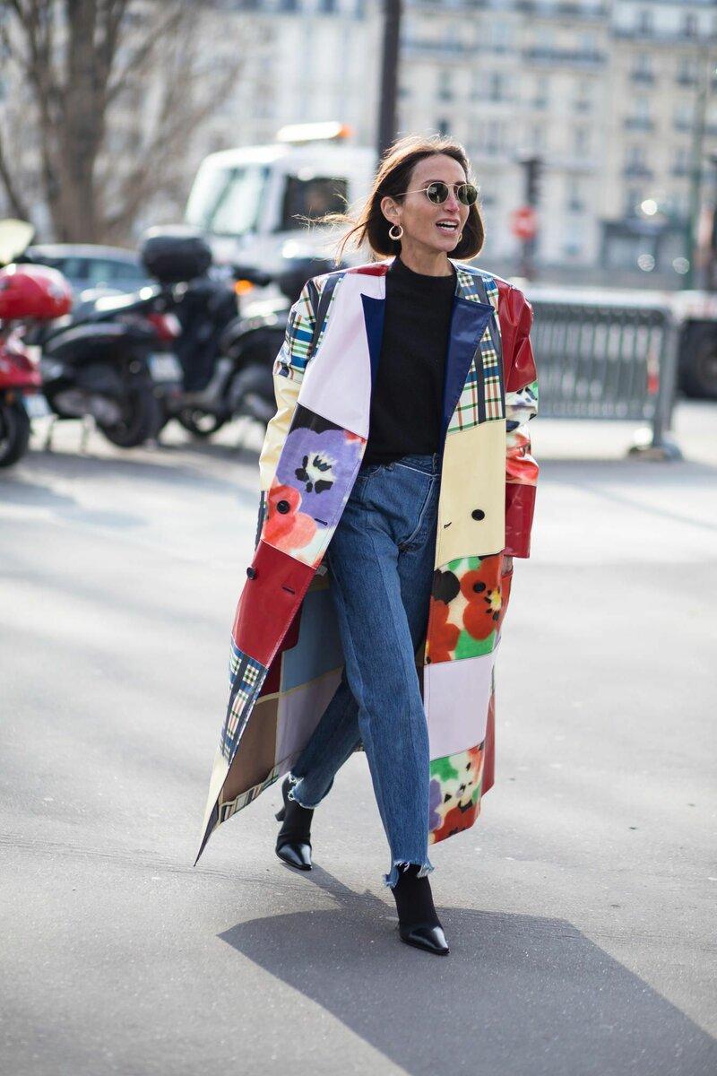 А вы бы надели одежду с узорами, имитирующими заплатки? /Фото: i.pinimg.com