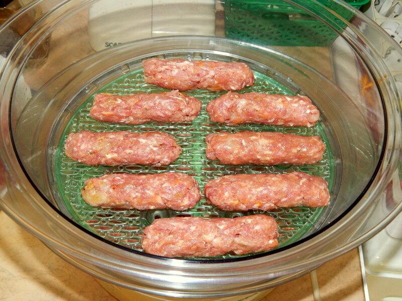Чесночные колбаски II. Интересно, и изумительно вкусно.