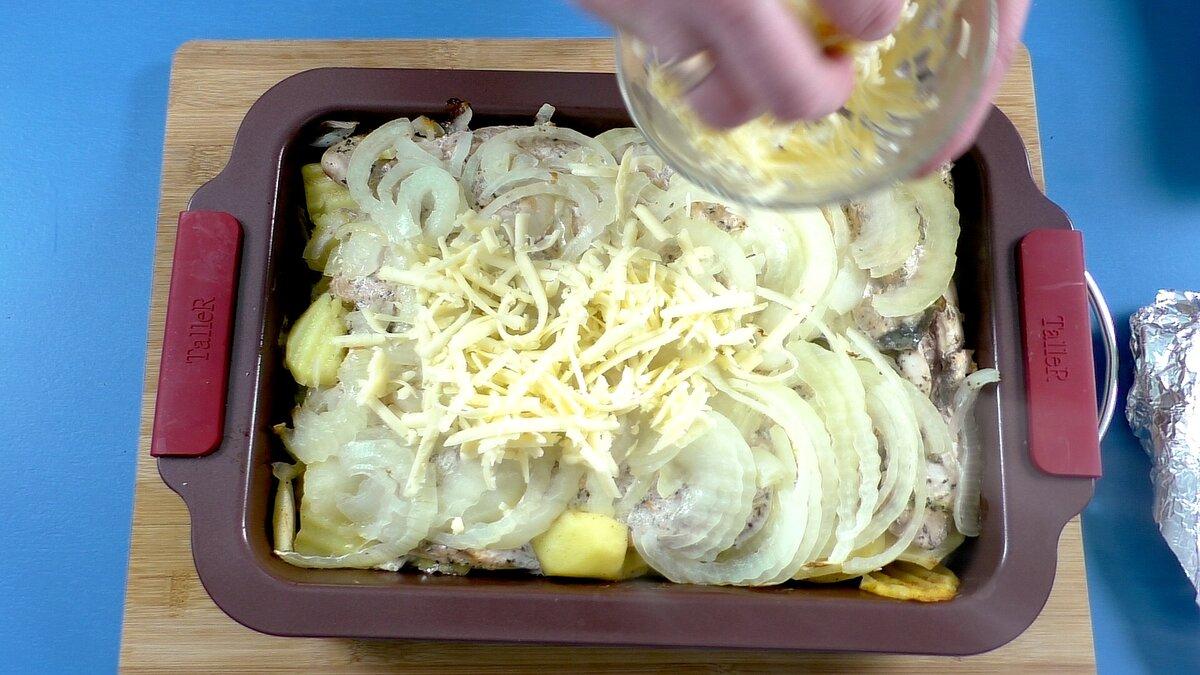 Сочная и Нежная Горбуша с овощами в Духовке. Самый Простой Рецепт