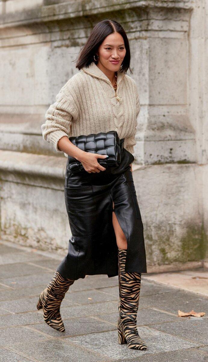 Юбка миди – самая актуальная модель. /Фото: cdn.cliqueinc.com