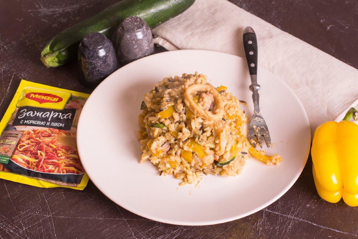 Вок с морепродуктами - вкусное и полезное блюдо