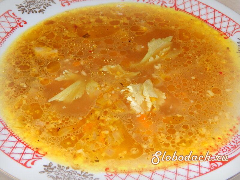 """Суп """"Ореховый"""". Почувствуйте ароматы грузинского """"сациви""""."""