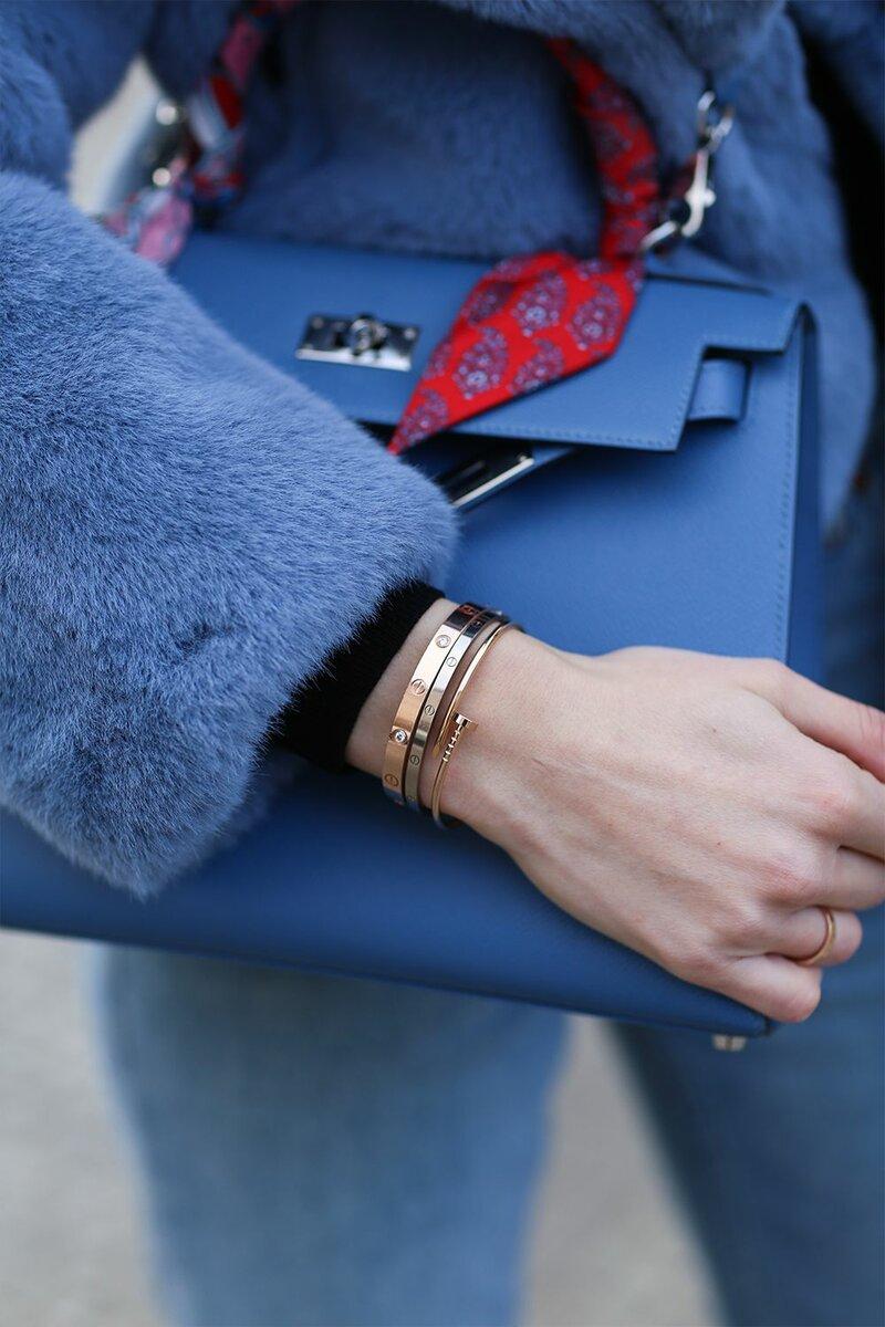 Такой браслет смотрится дорого и солидно. /Фото: cdn.cliqueinc.com