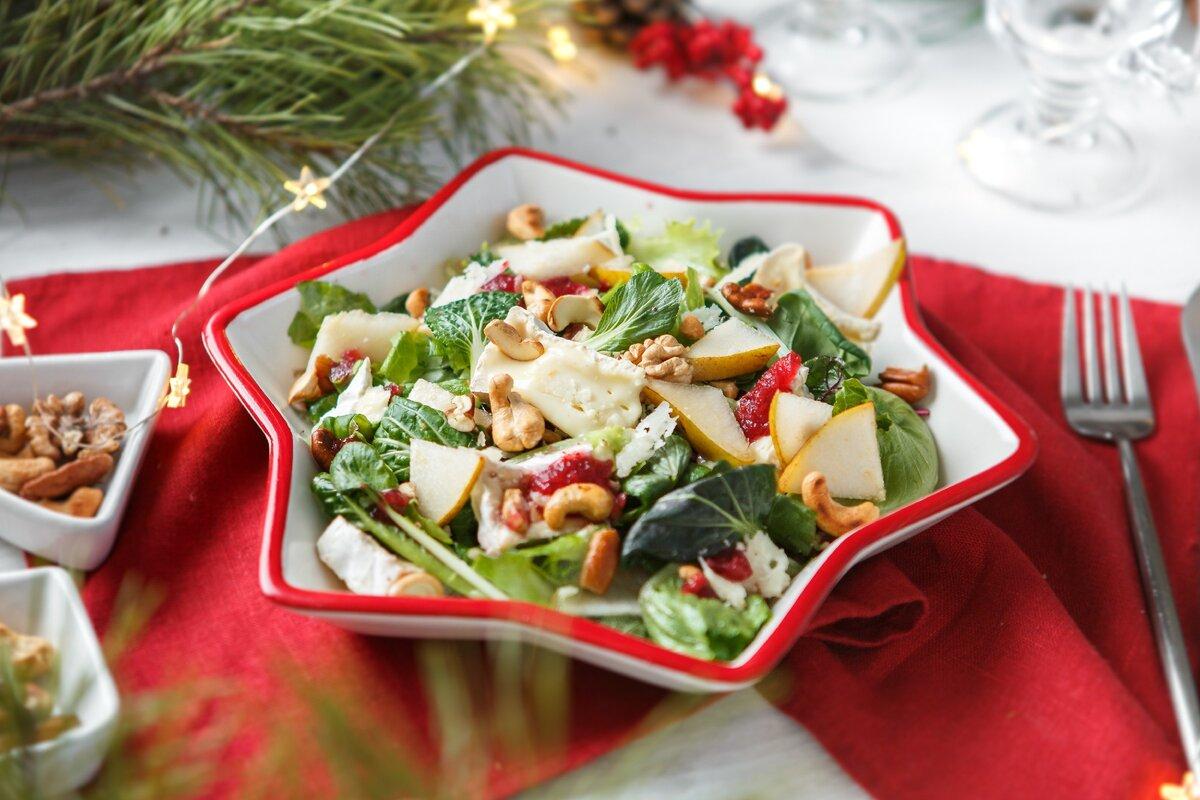 Текстурный, вкусный, сочный и ароматный - этот салат станет вишенкой на торте вашего стола