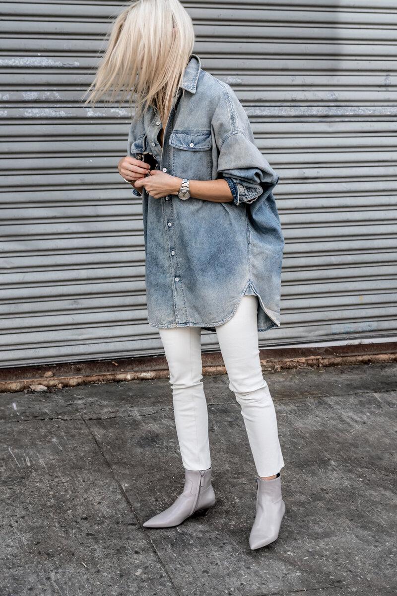 А вы бы стали носить джинсовую рубашку? /Фото: figtny.com