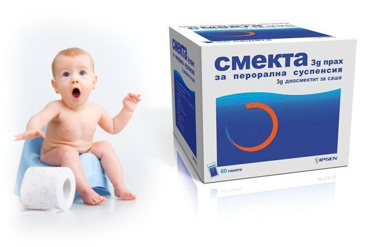 Популярное средство от диареи Смекта может быть опасно для детей