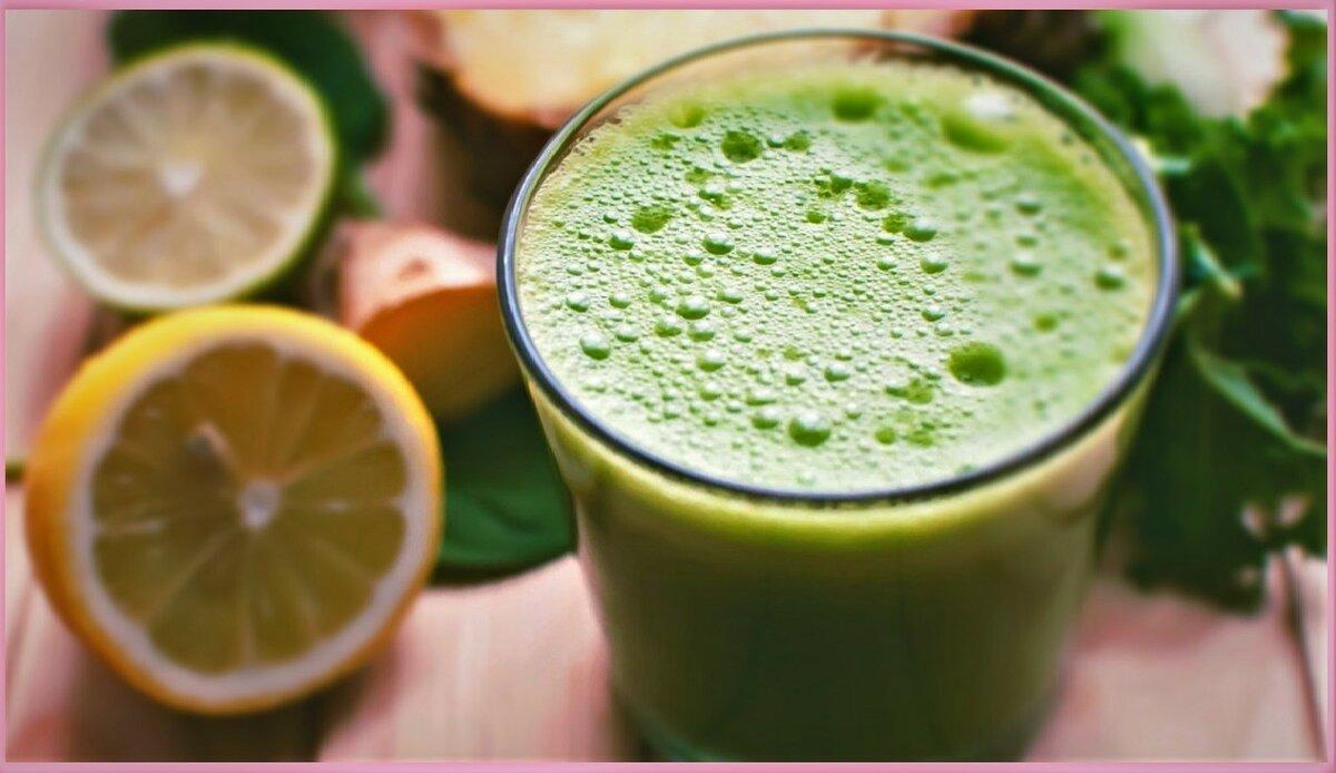 Полезный напиток, который укрепит здоровье сердца и работу пищеварительной системы: сок кинзы с имбирем