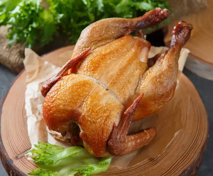 Курица горячего копчения от Ольги Друганиной