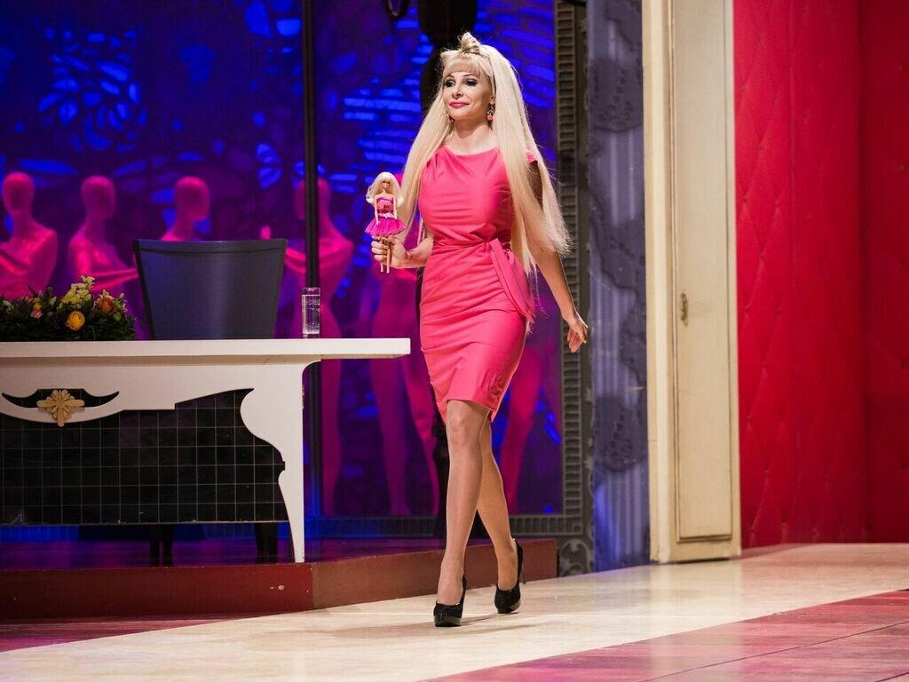 Барби в программе «Модный приговор». /Фото: modniy.tv