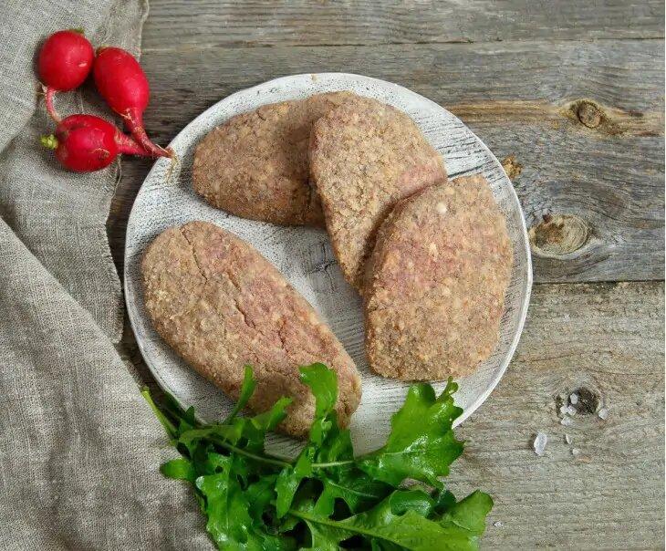 Шницель из мяса молодой говядины с собственной фермы Эдуарда Васильева