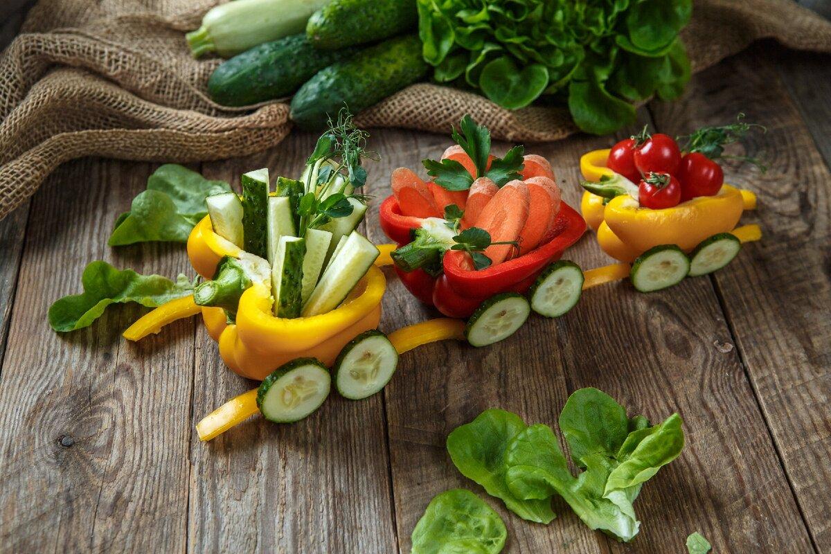 Такие овощи детям точно понравятся!