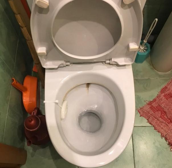 Как мой муж случайно очистил унитаз до блеска за 7 минут. Теперь унитаз стал, как новый. Рассказываю свой опыт