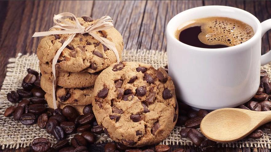 Необычный рецепт рассыпчатых орехово-шоколадных печений со ароматом кофе. Внуки в восторге от такой вкуснятины