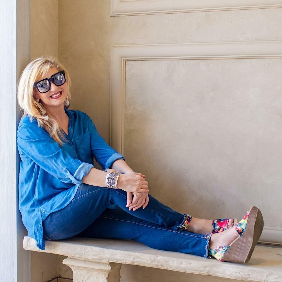 Можно ли носить джинсы в зрелом возрасте? /Фото: krasotka.cc