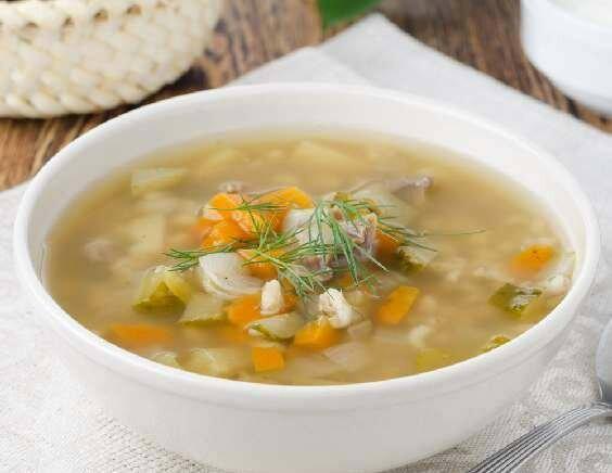 Постный суп - просто и вкусно