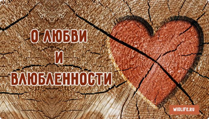Притча о Любви и Влюбленности